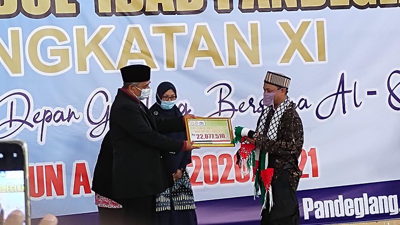 Gambar Gelar Wisuda XI, Murid SDIT Irsyadul 'Ibad Donasikan Rp. 22.077.510 Untuk Palestina 1