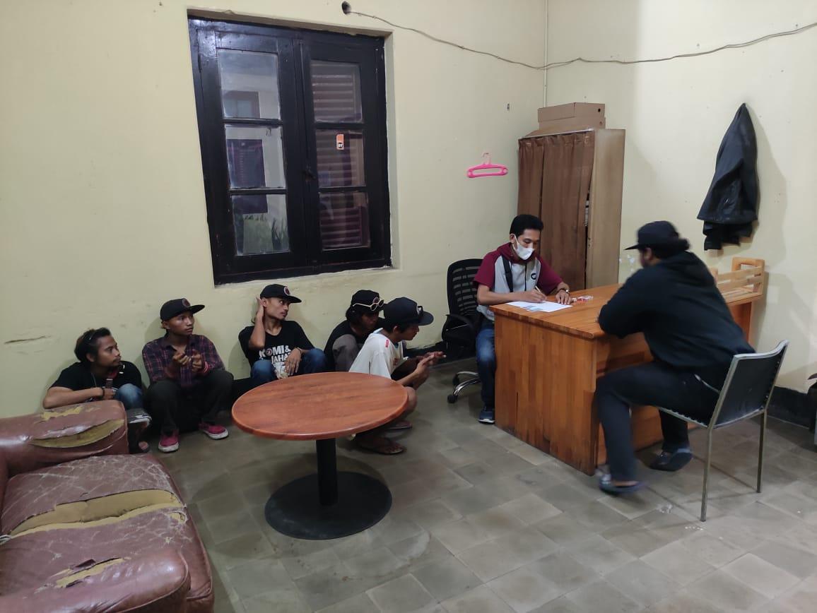 Gambar Ikuti Intruksi Kapolri, Polsek Ciruas Amankan 6 Pemuda Diduga Premanisme 13