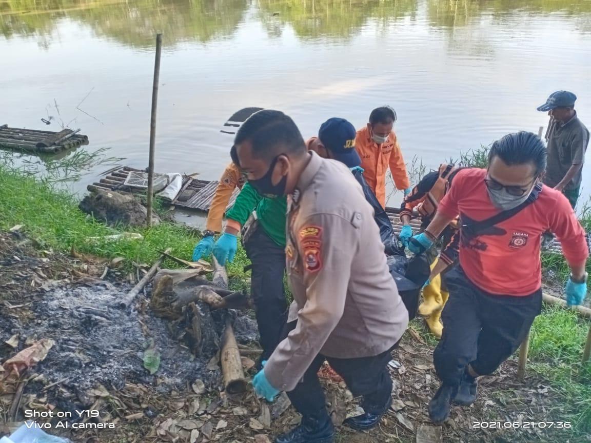 Gambar Pencari Rumput di Bantaran Sungai Ciujung Tewas Tenggelam 17