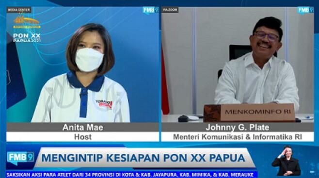 Gambar Antisipasi Kenaikan Trafik Jelang PON XX Papua, Menkominfo Siapkan Backup Telekomunikasi 11