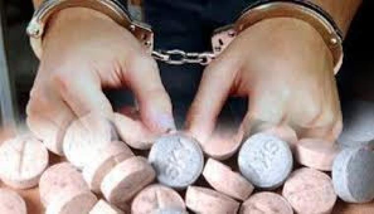 Gambar Pengedar Obat Hexymer & Tramadol di Cokok Polres Serang 1