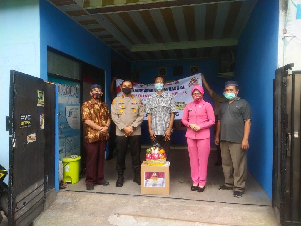 Gambar Jelang HUT Bhayangkara 75, Kapolres Serang Silaturahmi Ke Purnawirawan Polri 1