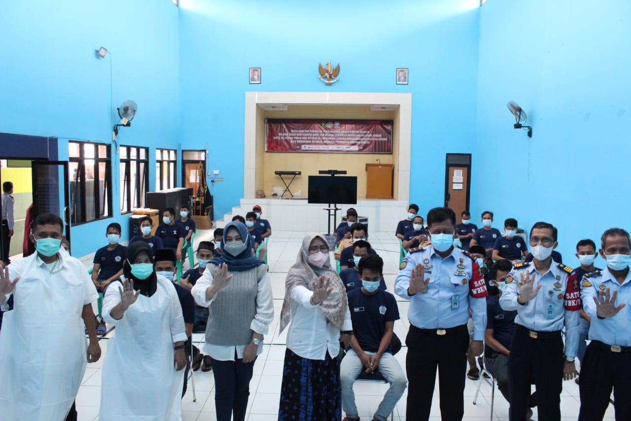 Gambar Timkes Lapas Serang Bekerjasama dengan Dinkes Kota Serang Laksanakan Skrining TB 17
