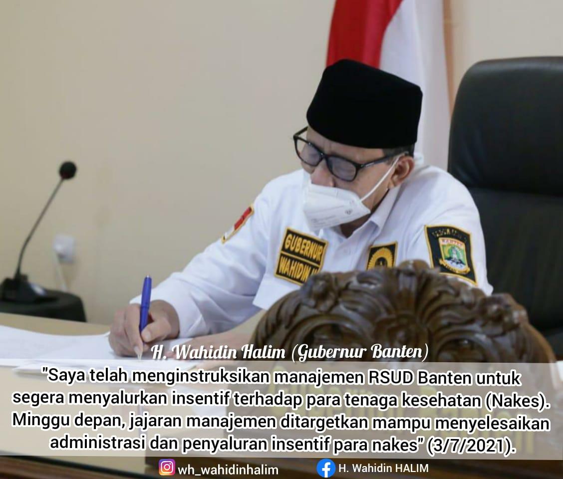 Gambar Gubernur Banten : PPKM Darurat Berjalan Lancar 1
