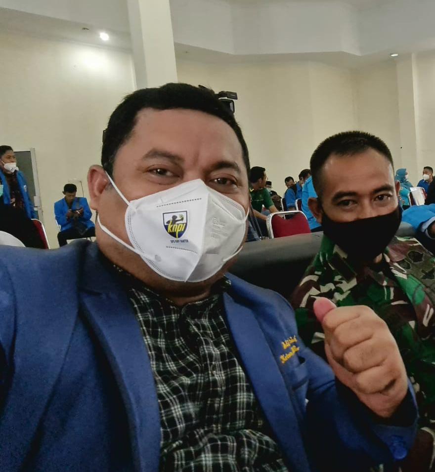 Gambar KNPI Banten Dukung Tindakan Pemerintah Dalam Menegakan PPKM Darurat 15