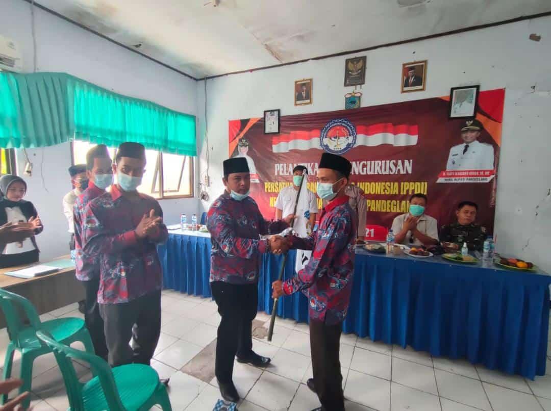 Gambar Pelantikan PPDI Kecamatan Patia Berjalan Lancar, Serta Terapkan Prokes 11