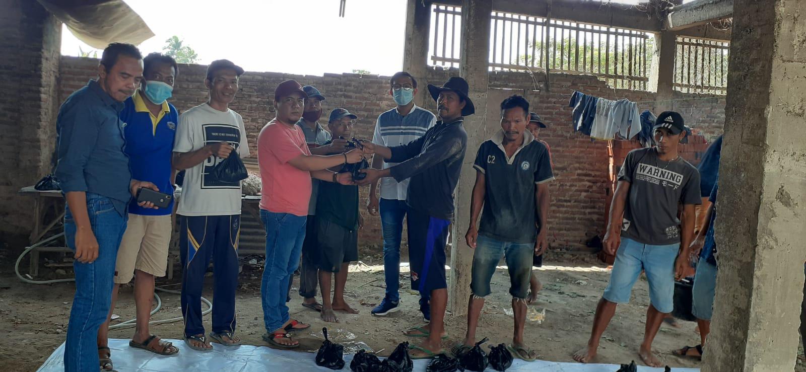 Gambar Ditengah Pandemi, PWI Banten Salurkan Hewan Qurban di JBS 15