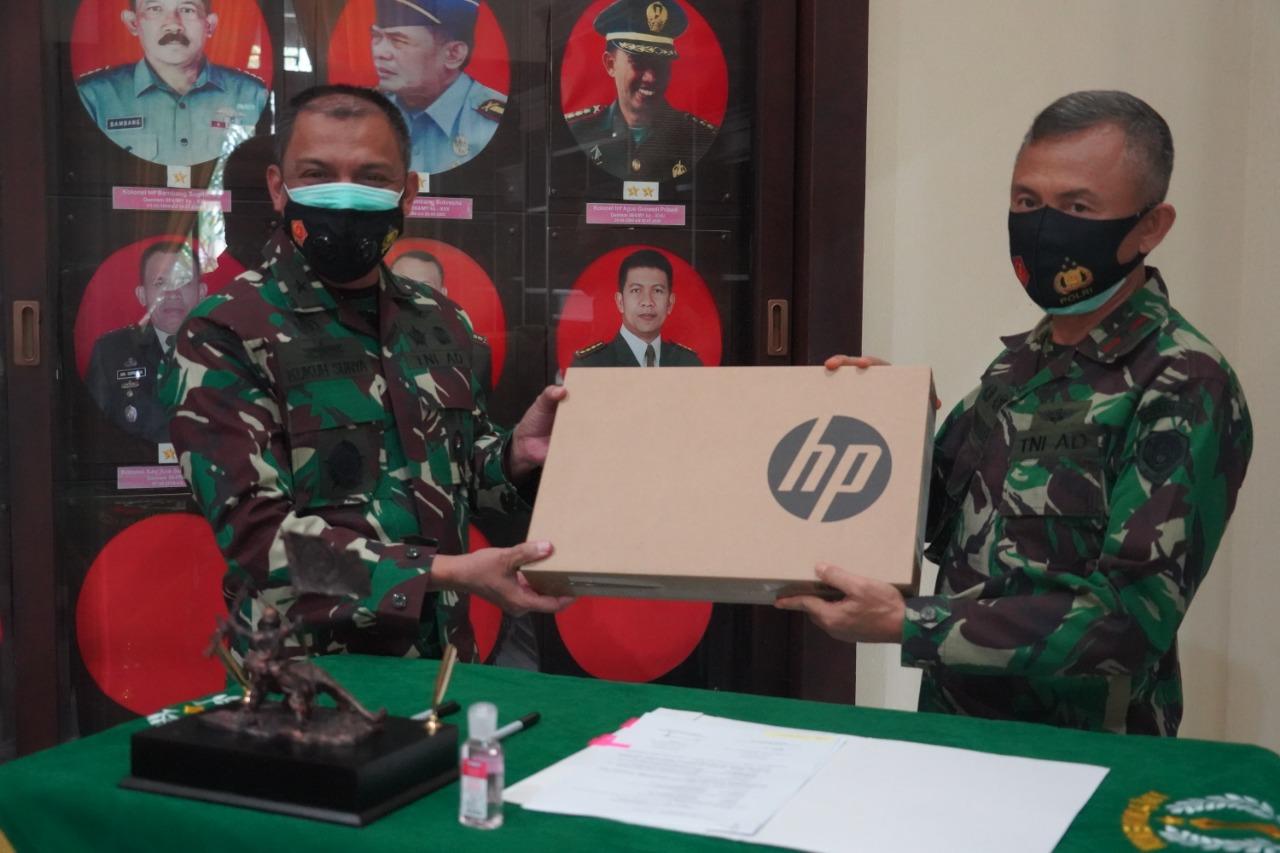 Gambar Korem 064/MY Menerima Sarpras Penerimaan Prajurit TNI Dari Mabes TNI 1