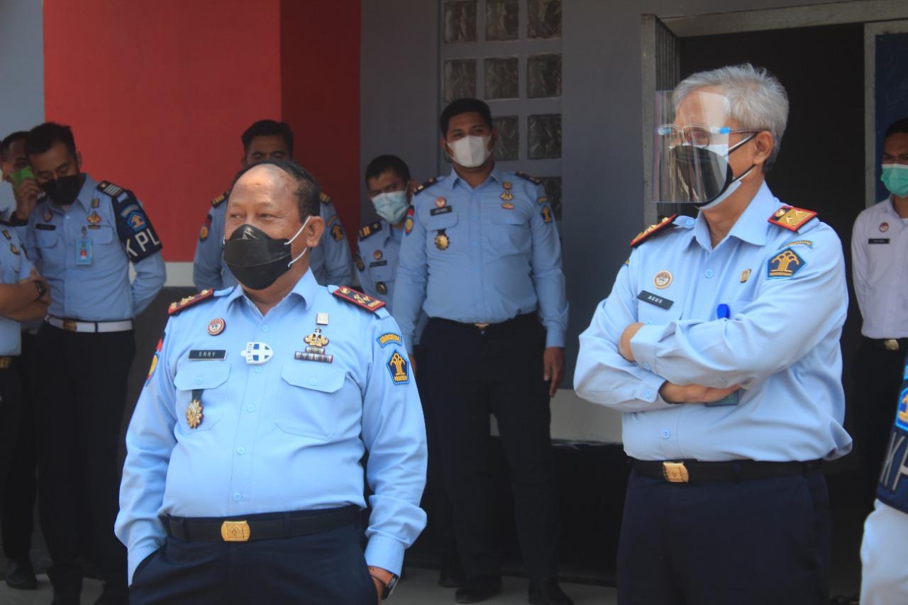 Gambar Lakukan Deteksi Dini, Kakanwil Kumham Banten Kunjungi Lapas Cilegon 17