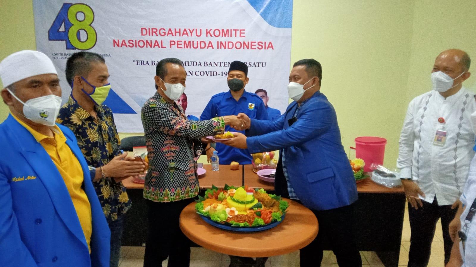 Gambar Rayakan HUT Ke-48, Ketua DPD KNPI Banten Satukan Pemuda 15