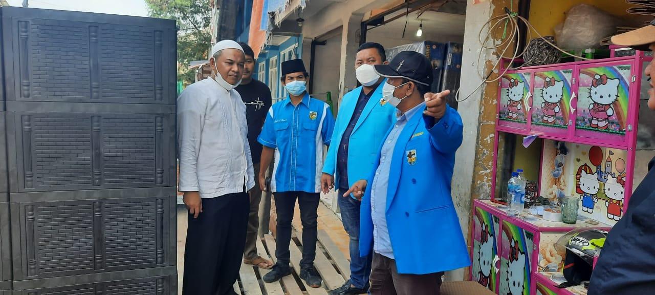 Gambar KNPI Dampingi Paguyuban Pasar Cisoka Untuk Berjuang Menolak Penuh Pemagaran Akses Jalan 1