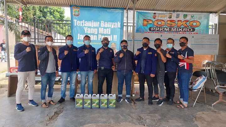 Gambar Berulang, Karang Taruna Tangsel Kembali Distribusikan Beras Dan Disinfektan Untuk Masyarakat 15