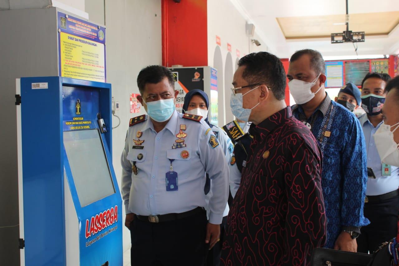 Gambar Tinjau Kesiapan Pembangunan ZI, PK Utama Ditjenpas Sambangi Lapas Serang 13