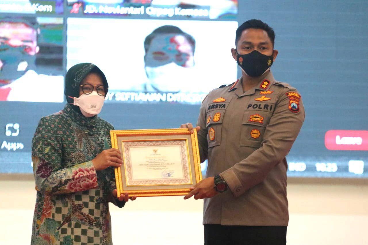 Gambar Berperan dalam Penyelematan Keuangan Negara, Kapolres Probolinggo Raih Penghargaan dan Apresiasi dari Menteri Sosial Republik Indonesia 15