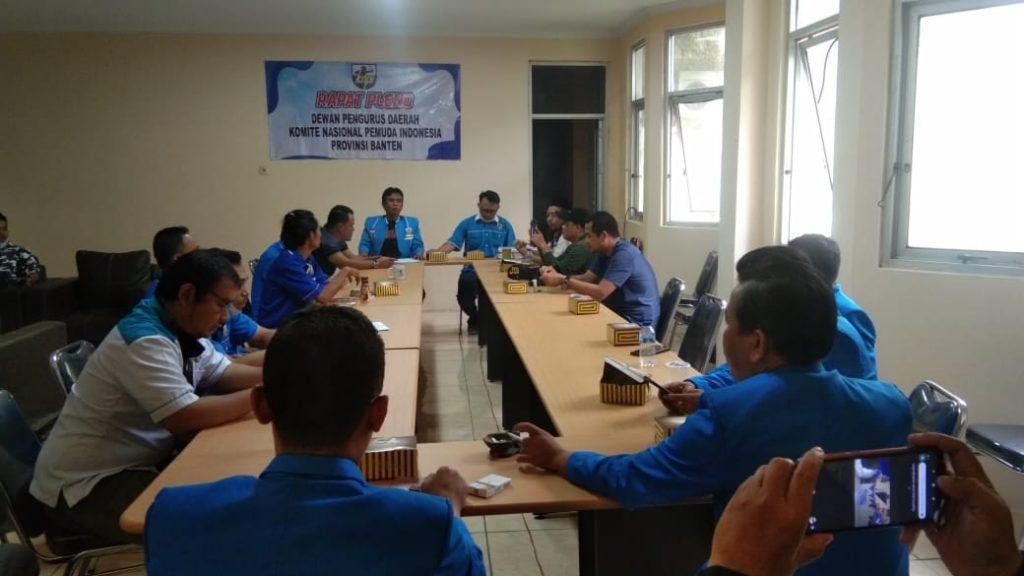 Gambar Rapat Pleno KNPI Provinsi Banten, Bentuk Pelaksana Musda hingga Reshuffle Kepengurusan 1