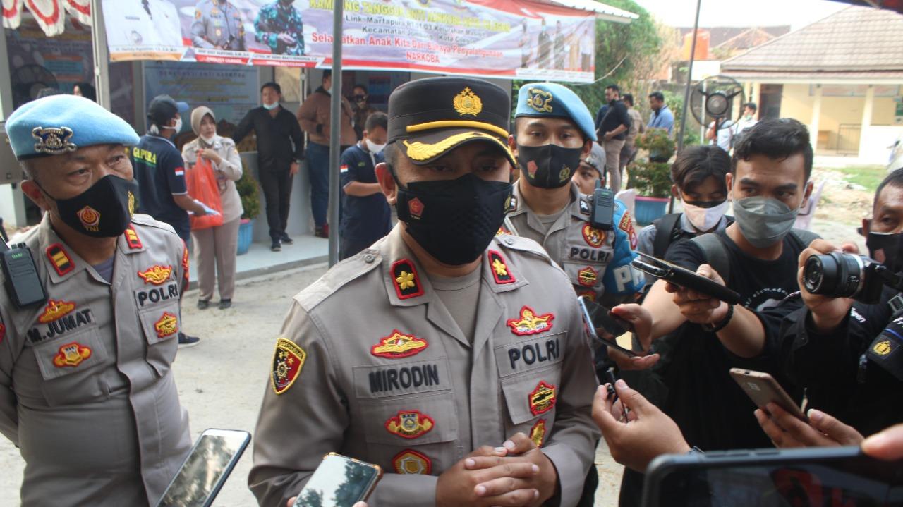 Gambar Polres Cilegon Melaksanakan Peresmian Kampung Tangguh Antinarkoba 11