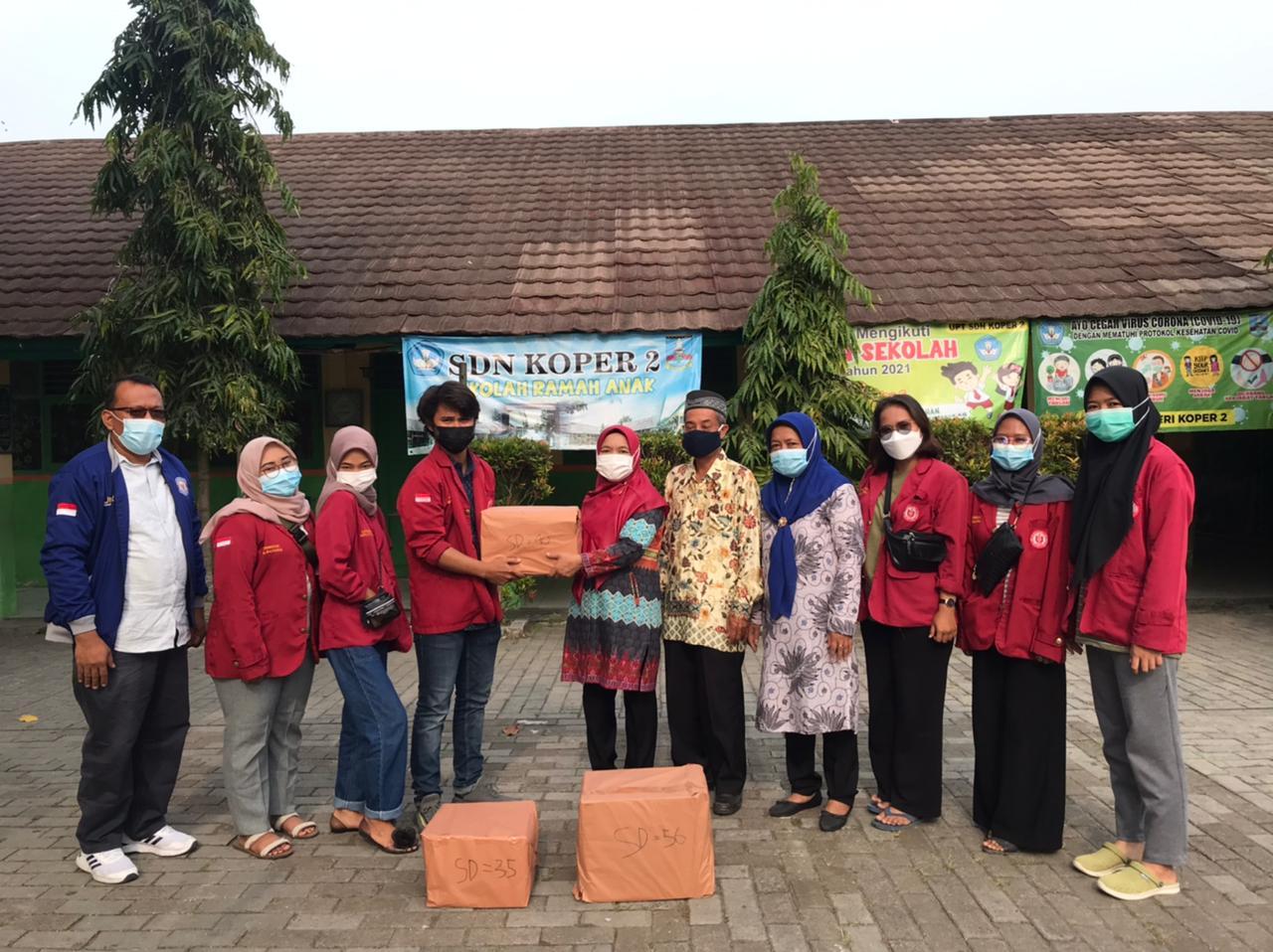 Gambar Donasi Buku Bacaan Untuk 3 SDN dan 1 PAUD di Desa Koper 13