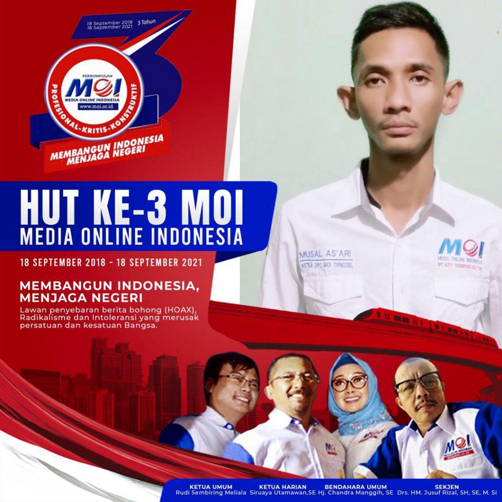 Gambar HUT Ke 3 MOI: DPC MOI Tangsel Usung Tema Membangun Indonesia, Menjaga Negeri 1
