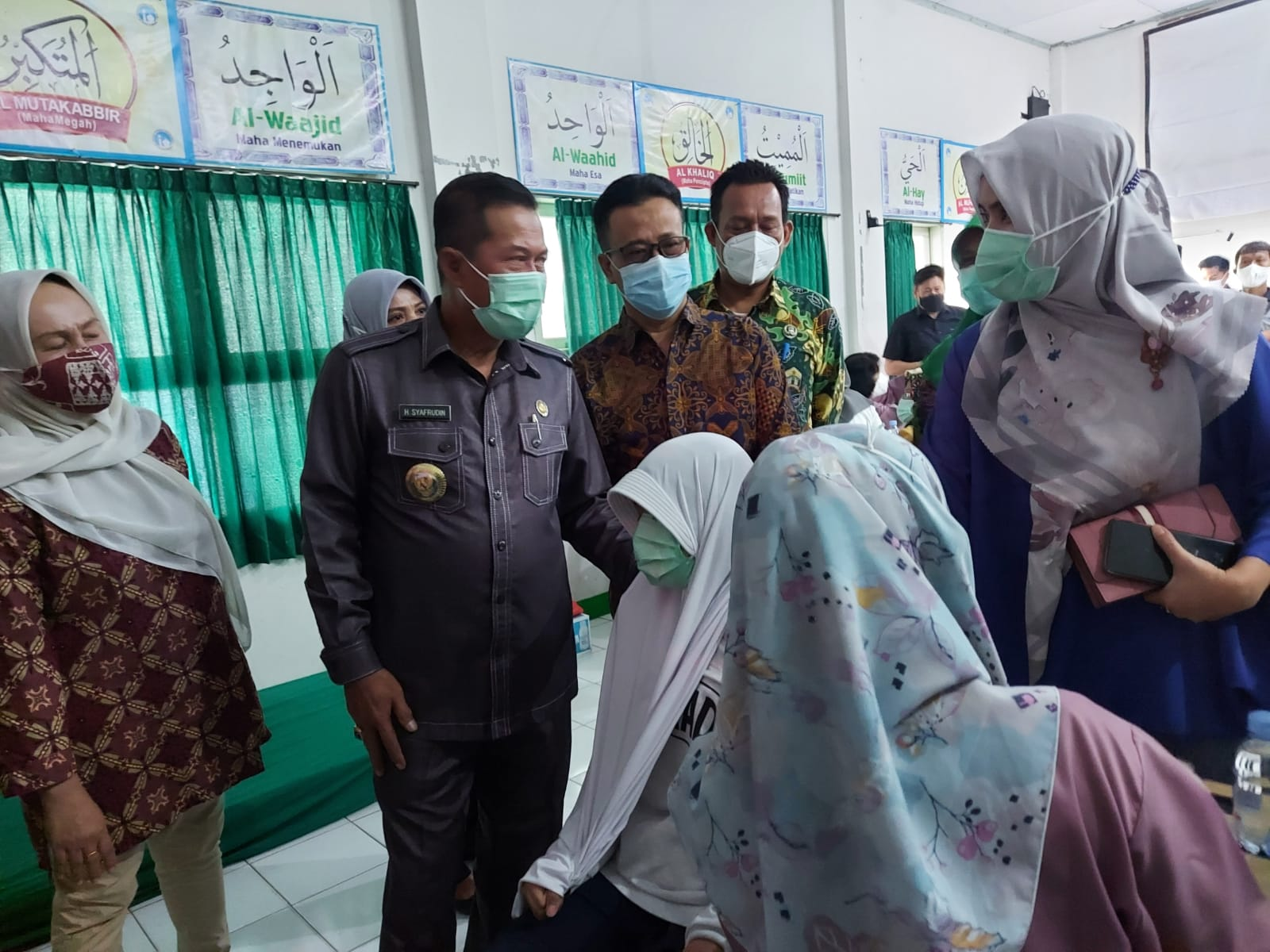Gambar Wali Kota Serang : 90 SMP di Kota Serang Siap Lakukan PTM 11