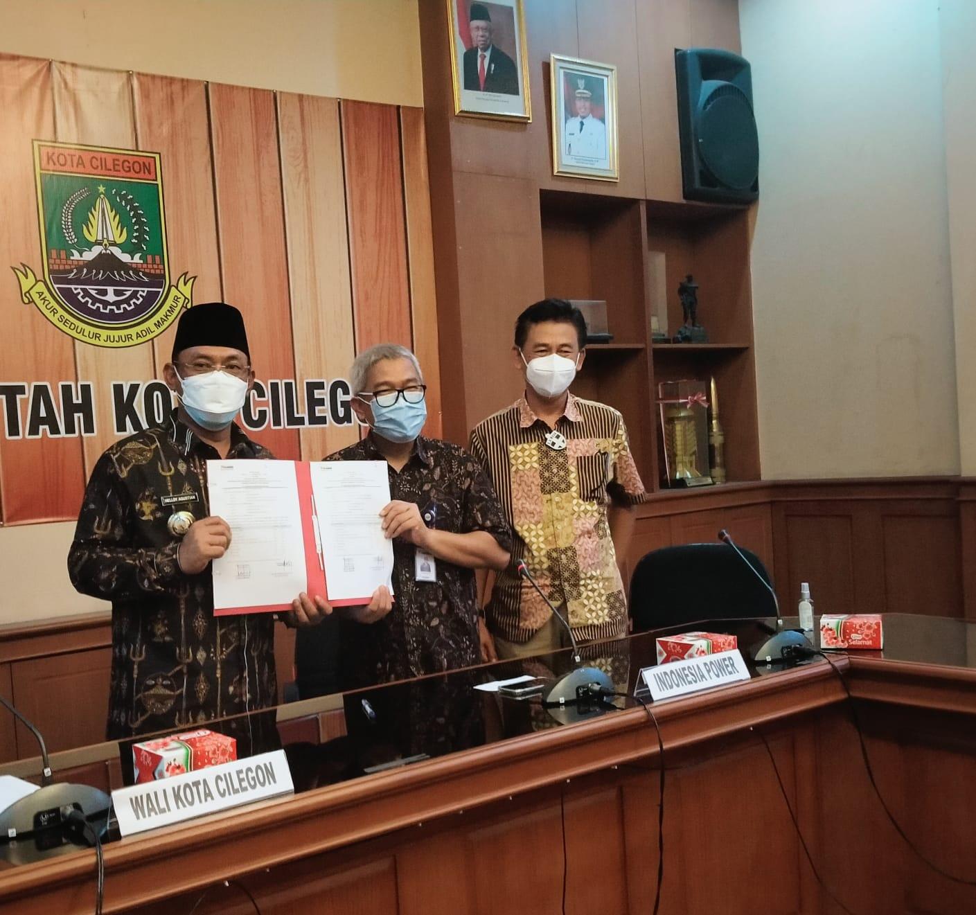 Gambar Wali Kota Jelaskan Cilegon Zona Kuning, PT Indonesia Power Beri Bantuan Penanganan Covid-19 7