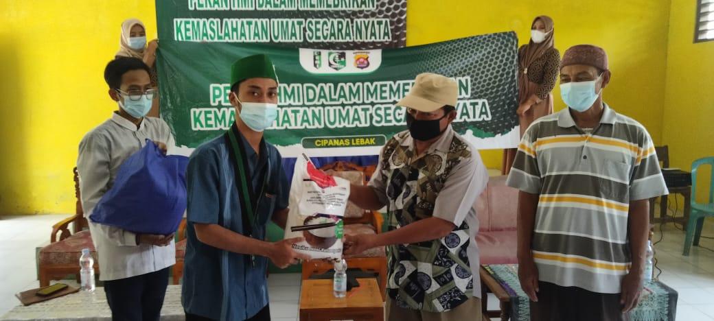 Gambar Baksos HMI MPO Lebak Bersama Polda Banten Memberikan Kemaslahatan Umat Secara Nyata 17