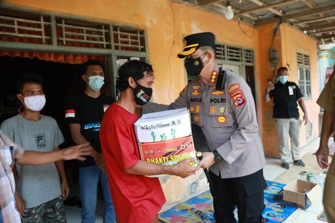 Gambar Peduli Duka Warga Kresek, Kapolresta Tangerang Sambang Duka dan Beri Santunan Kepada Keluarga Korban Tenggelam 5