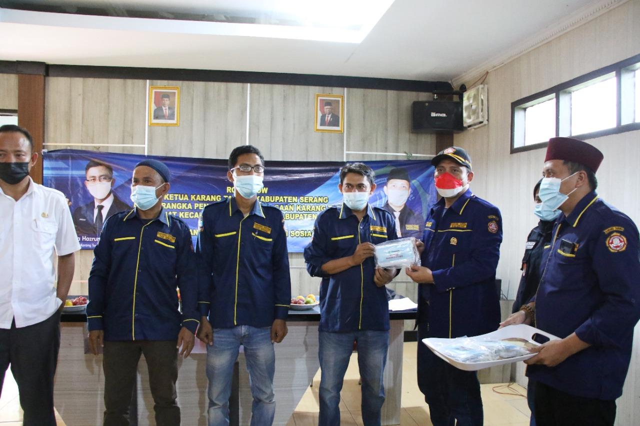 Gambar Roadshow, Bahrul Ulum Minta Karang Taruna Mobilisasi Masyarakat Jalani Vaksinasi 1