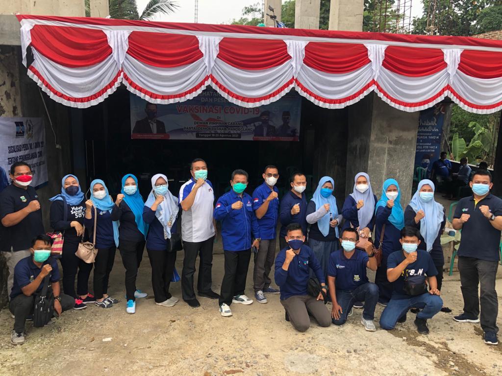 Gambar Pengurus DPC PD Pandeglang Ancam Geruduk Lokasi Perayaan HUT Demokrat ke-20 Kubu Moeldoko di Hotel Solitier 11