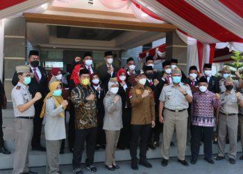Gambar Upacara Peringatan Hantaru 2021, Kantor Wilayah BPN Provinsi Banten Selenggarakan Upacara Terbatas 1