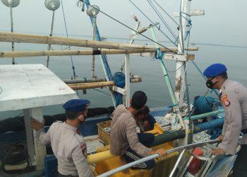 Gambar Patroli Satpolair Polres Serang Kota Polda Banten Monitoring Pasang Surut Air Laut 13