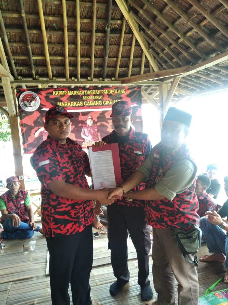 Gambar Amir Amjaiah, Resmi Pimpin KKPMP Marcab Cikeusik 1