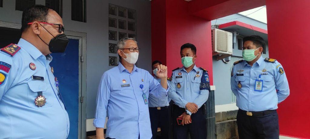 Gambar Kakanwil Kemenkumham Banten Kunjungi Lapas Cilegon, Ada Apa? 1