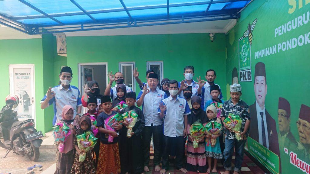 Gambar Rangkaian Hut MOI ke - 3 Tahun, DPC MOI Kota Serang Gelar Santunan Anak Yatim dan Bagikan Masker 1