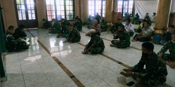 Gambar Prajurit Lanal Banten Gelar Doa Bersama Peringatan HUT TNI Ke 76 9