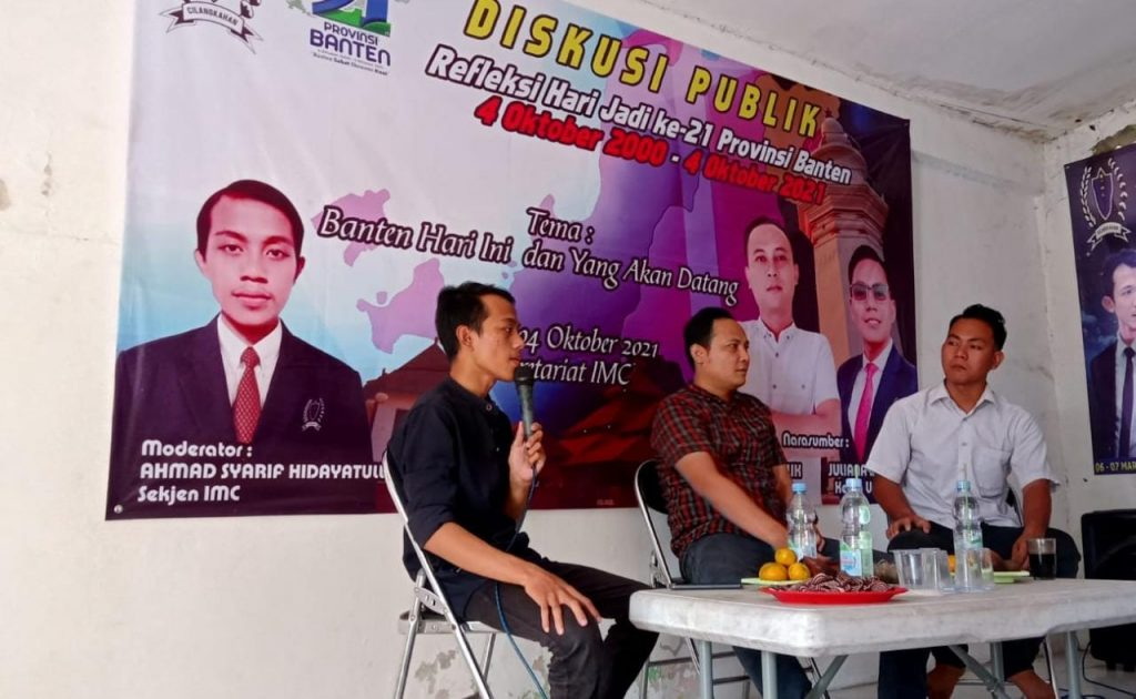 Gambar Diskusi Publik IMC, Kiprah DPRD Banten Dapil Lebak Dipertanyakan 1