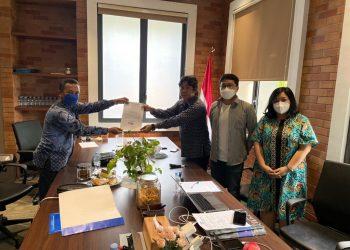 Gambar Dapat Dukungan 5 DPC PD Se-Provinsi Banten, Yoyon Sujana Resmi Serahkan Berkas Pencalonan Sebagai Ketua DPD PD Provinsi Banten 1