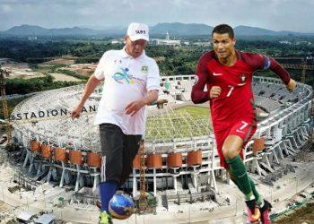 Gambar Gubernur WH Inginkan C.Ronaldo Main Bola Di Stadion Banten Pake Dana Sponsor 19
