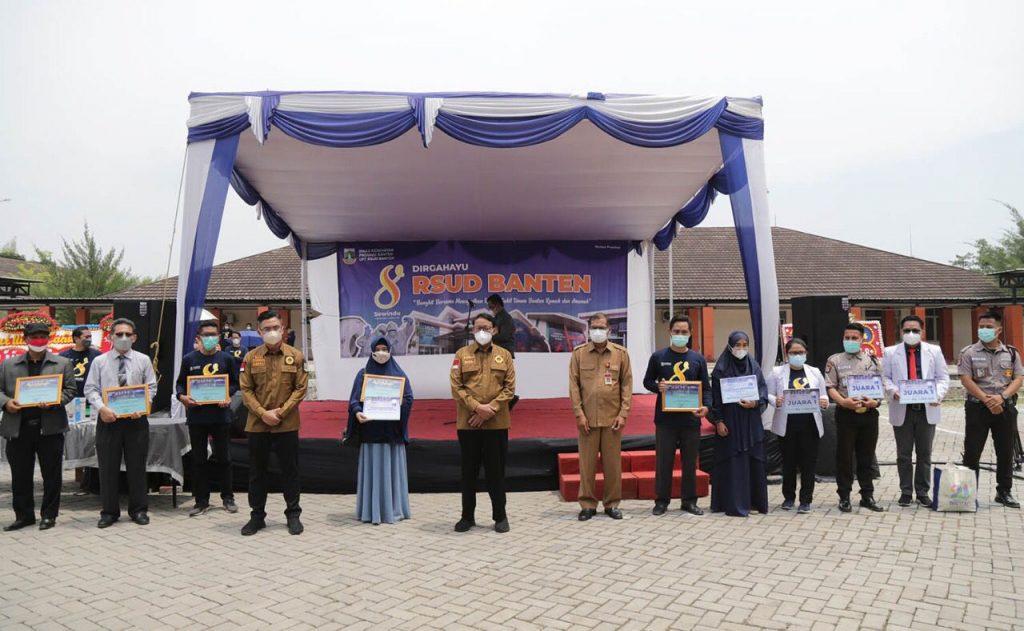 Gambar RSUD Banten, Gubernur WH : Sektor Kesehatan Salah Satu Fokus Pembangunan Pemprov Banten 1