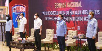 Gambar Kementrian Hukum dan Ham Dukung Aselerasi Indonesia Sehat dan Pemulihan Ekonomi Nasional 11