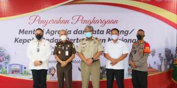 Gambar Menteri ATR/Kepala BPN Berikan Apresiasi Atas Keberhasilan Target Operasi Mafia Tanah di Provinsi Banten 7