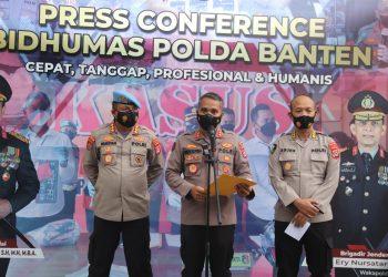 Gambar Dikenakan Pasal Berlapis, Polda Banten Lakukan Penahanan Terhadap Brigadir NP 31