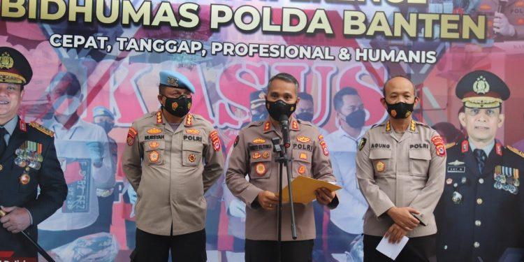 Gambar Dikenakan Pasal Berlapis, Polda Banten Lakukan Penahanan Terhadap Brigadir NP 1