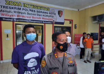 Gambar Pelaku Pencuriaan Modus Pecah Kaca Diamankan Polres Serang Kota Polda Banten 7
