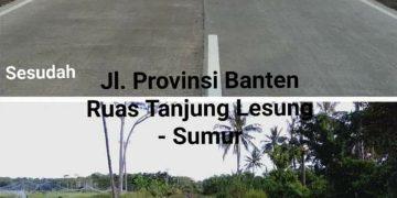 Gambar Wow…Gubernur Wahidin Halim Pamer Jalan Bagus yang Dulu Hancur 7