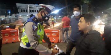 Gambar Razia Kendaraan, Polres Serang Kota Polda Banten Amankan 1 Unit R4 dan 25 Unit R2 3