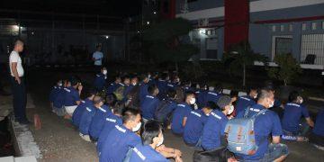 Gambar Deteksi Dini Gangguan Kamtib, Puluhan Warga Binaan Lapas Serang Dipindahkan ke Lapas Cilegon 5