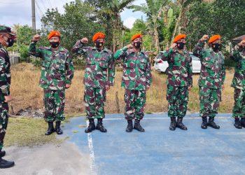 Gambar Danlanud Sam Ratulangi Peringati HUT Korpakhasau ke-74 di Kalawiran 41