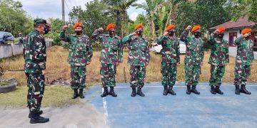 Gambar Danlanud Sam Ratulangi Peringati HUT Korpakhasau ke-74 di Kalawiran 5