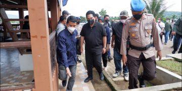 Gambar Polres Serang Kota Polda Banten Gelar Pengamanan dan Pengawasan Prokes Kunjungan Menteri BUMN RI 9