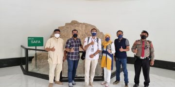 Gambar Dirpamobvit Polda Banten Bersama Kabid Sdm Dispar Prov. Banten Kunjungi tempat Wisata Lubana Sengkol 9
